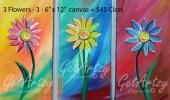 Flowers-3---triple-canvas