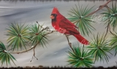 Cardinal-On-Branch-