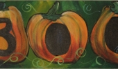 Fall BOO pumpkins