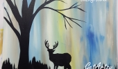 Deer-Silouette-Glow-b