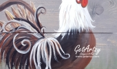 Rooster-Real-Wood