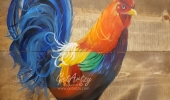 Artzy Rooster